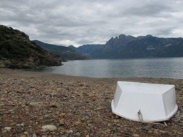 Zum Strand rund 300 Meter Fußweg, Camping E Gradelle, Korsika / © Camping Korrespondent