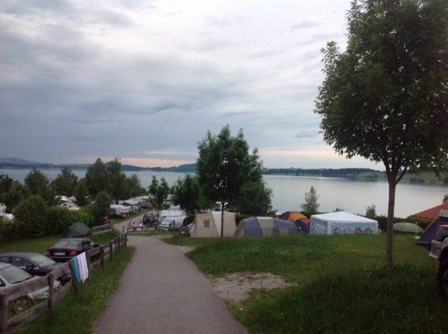 Camping Brunnen, Schwangau / Foto: © Camping Korrespondent