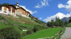 Kleine Dörfer, grüne Wiesen