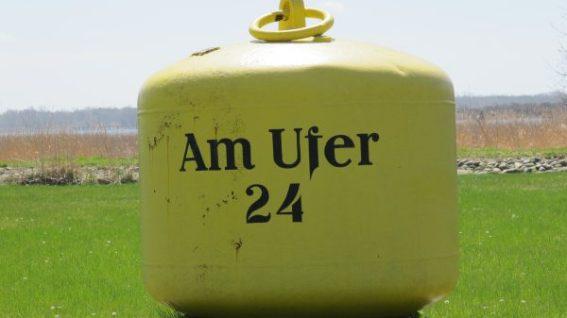 Alternatives Hausnummernschild