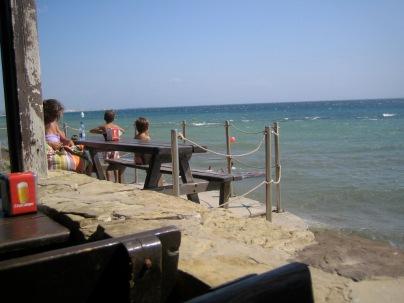 Strandbar am Campingplatz