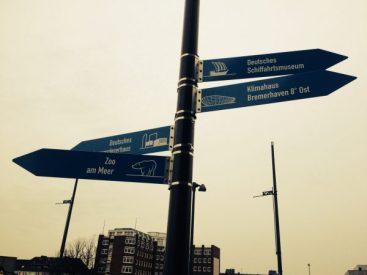Schilder Havenwelt Bremerhaven