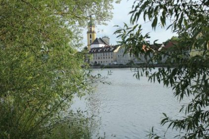 Blick auf die Altstadt von Kitzingen
