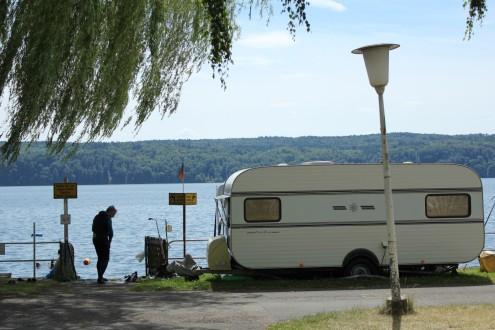 Zugang zum See am Campingpark Überlingen