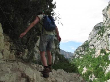Wandern in Verdonschlucht / ©Campingkorrespondent