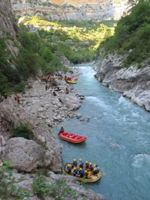 Rafting in Verdonschlucht / ©Campingkorrespondent