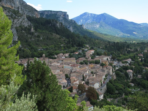 Moustiers Sainte-Marie / ©Campingkorrespondent