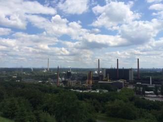 Weitblick über Ruhrgebiet, Foto: Camping Korrespondent ©