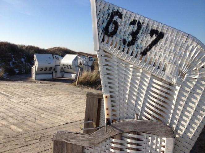 Spiekerooger Strandkörbe, © Campingkorrespondent