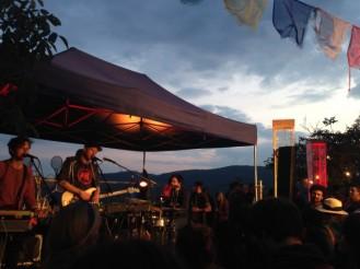 Aloa Input beim Oben Air Festival 2015 / ©Campingkorrespondent