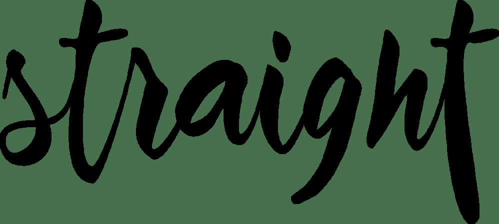 Logo Straight magazine