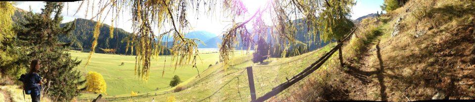 Vinschger Höhenweg / © Camping Korrespondent
