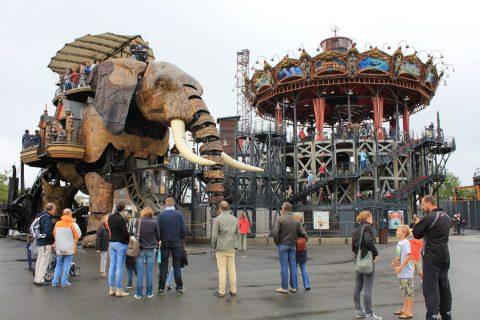 Les Machines, Nantes / Foto: © Camping Korrespondent