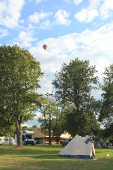 Camping Municipal, Chaumont-sur-Loire / Foto: © Camping Korrespondent