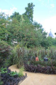 """""""Der schwarze Garten"""", Chaumont-sur-Loire / Foto: © Camping Korrespondent"""