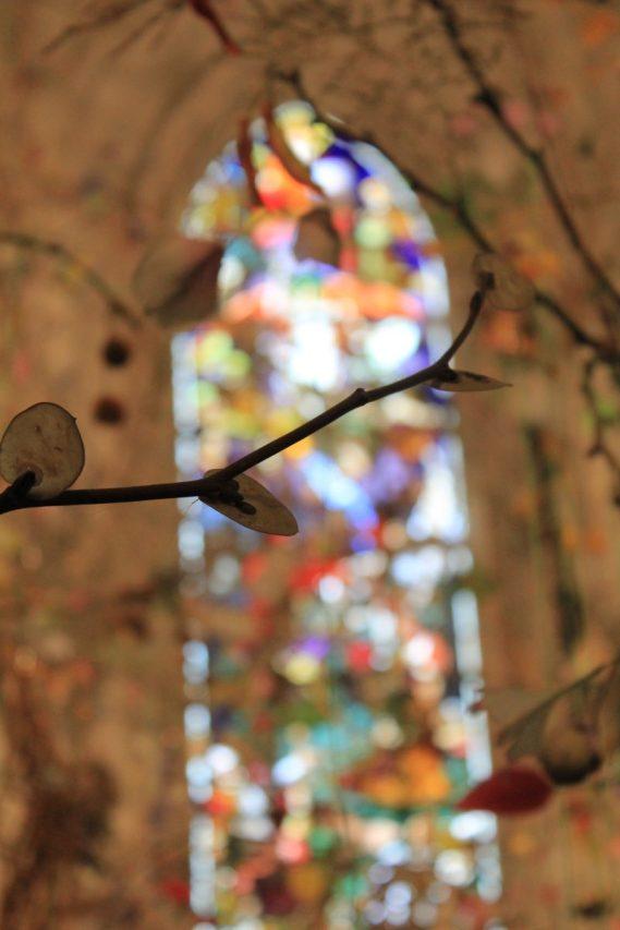 Kunst in der Schlosskapelle, Chaumont-sur-Loire / Foto: © Camping Korrespondent