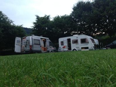 Campingplatz Happach an der Sieg / Foto: © Camping Korrespondent
