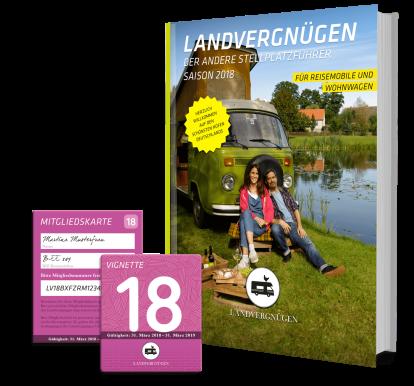 Cover Landvergnügen 2018 / © Landvergnügen