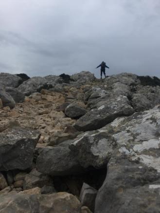 Gipfel in Sicht, Trockenmauerweg Mallorca / © Campingkorrespondent
