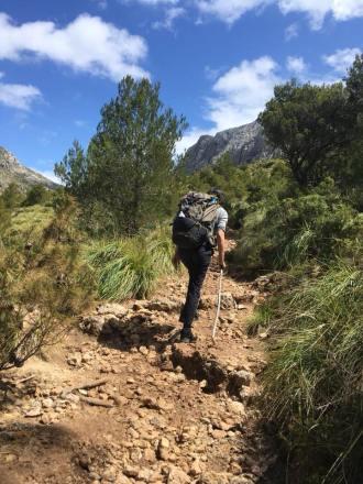 Auf nach Lluc, Trockenmauerweg Mallorca / © Campingkorrespondent