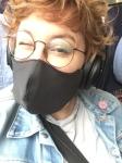 Steff mit Maske