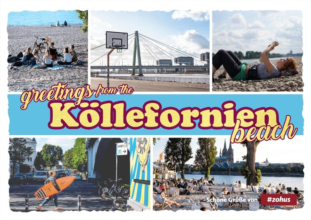 Postkarte aus Köln